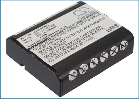 Battery for Commodore 250 3.6V Ni-MH 1200mAh / 4.32Wh