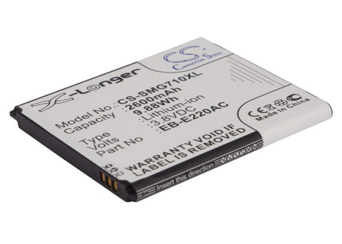Battery for Samsung Galaxy Grand 2, Galaxy Grand 2 Duos, SM-G7102, SM-G7105, SM-