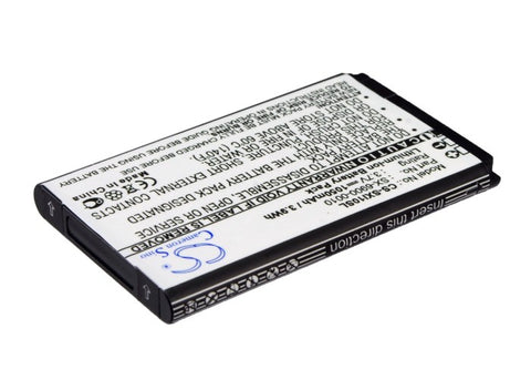 Battery for Sirius SXi1, XM Lynx SX-6900-0010 3.7V Li-ion 1050mAh