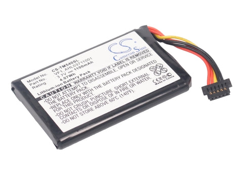 Battery for TomTom 4CF5.002.00, Go 540, Go 540 Live AHL03711001, VF1 3.7V Li-ion