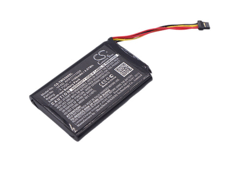 Battery for TomTom 4FL50, 4FL60, Go 5000, GO 5100, Go 6000, GO 6100, Pro 5250, P