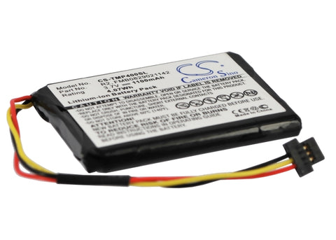 Battery for TomTom 340S LIVE XL, 4EG0.001.08, One XL 340, One XL 4EG0.001.17, Pr
