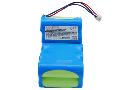 Battery for Topcon GPS Receiver BT-4 12V Ni-MH 2500mAh