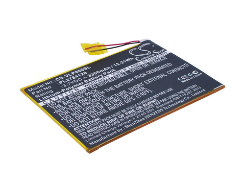 Battery for Visual Land ME-9Q, Prestige Elite 9Q 9-inch PL2784120 3.7V Li-Polyme
