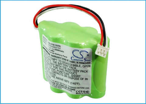 Battery for Vetronix 03002152, Consult II 02002720-01, VTE03002152 7.2V Ni-MH 20