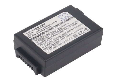 Battery for Zebra WorkAbout Pro 4, WorkAbout Pro G4 3.7V Li-ion 2000mAh / 7.40Wh