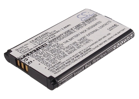 Battery for Wacom CTH-470, CTH-470S, CTH-670, CTH-670S, CTH-670S-DE, CTL-470, In