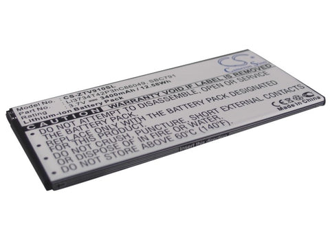 Battery for ZTE T9, V9, V9 Light Tab, V9 plus, V9A, V9C, V9e Li3734T42P3hC86049,