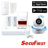 SecuFirst Wireless Smart Home Control Security System Kit Smart Phone App Control