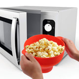 Microwave Popcorn Maker Pop Corn DIY Silicone Bowl Bucket in Microwave