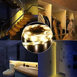 Kitchen Cabinet Wardrobe Motion Detect Sensor Activated LED Strip Light
