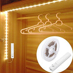 Cabinet Wardrobe Motion Detect Sensor Activated LED Strip Light
