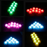 Submersible RGB Underwater Aquarium Tank Multi Color Waterproof LED Night Lights Multi-Color