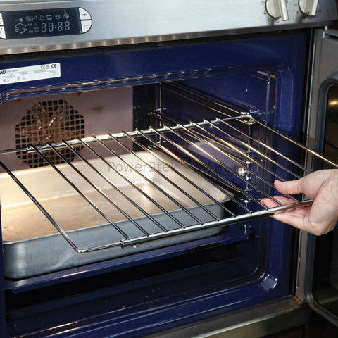Universal Chrome Plated Adjustable Oven/Cooker/Grill Shelf in Oven Cooker