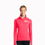 Sport-Tek® Sport-Wick® Ladies Stretch 1/2-Zip Pullover