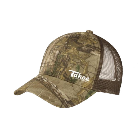 PortAuthority® Structured Camouflage Mesh Back Cap