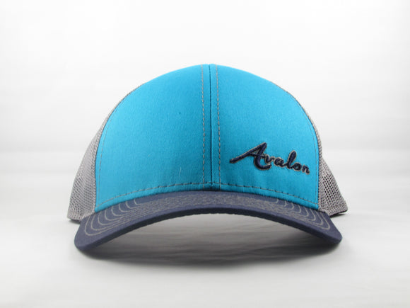 Tri-Color Mesh Back Cap