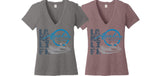 Women's AVALON Lake Life V-Neck