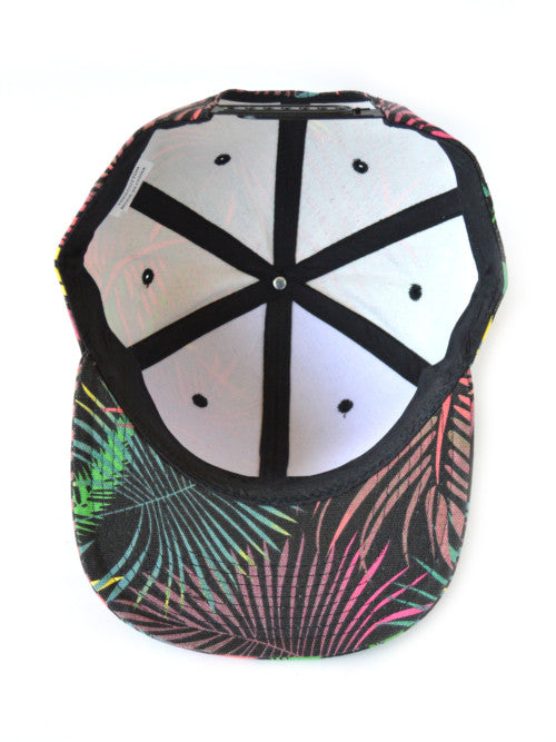 GO ALL DAY palm floral hat snapback
