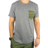 CAMO Pocket Crew TriBlend Tee