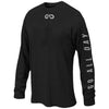 """GO ALL DAY"" Black/Grey Long-sleeve Shirt (Small Logo)"
