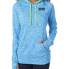 "Women's ""Cosmic"" Hoodie Fleece (Electric Blue)"