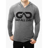 """THE CLASSIC"" Lightweight TriBlend Hoodie 2.0 (Grey)"