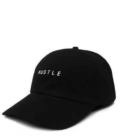 'HUSTLE' Dad Hat (Black)