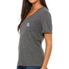 Women's Flowy Pocket Tee (Heather Grey)