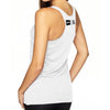 """HUSTLE"" Women's TriBlend Racerback Tank GO ALL DAY"