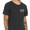 CREST Wide Neck TriBlend Tee (Dark Grey)
