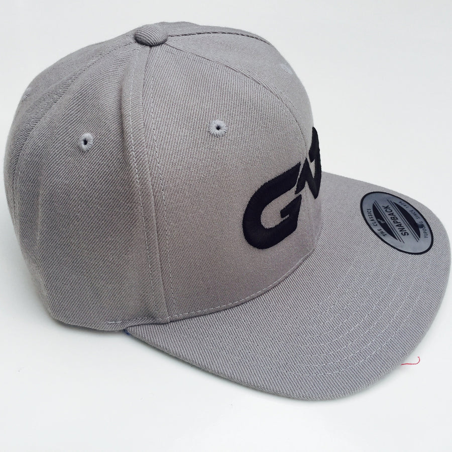 GO ALL DAY® Logo Snapback Hat (Grey)