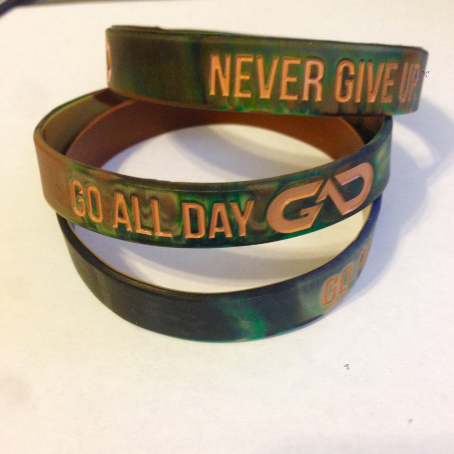 GO ALL DAY® Wristband (Camo)