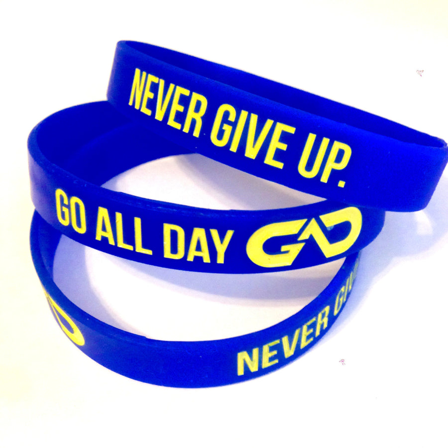 GO ALL DAY® Wristband (Royal Blue)