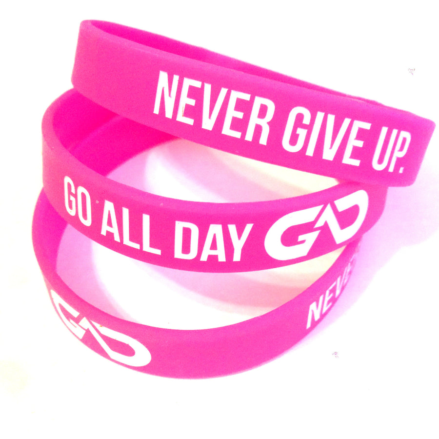 GO ALL DAY® Wristband (Pink)