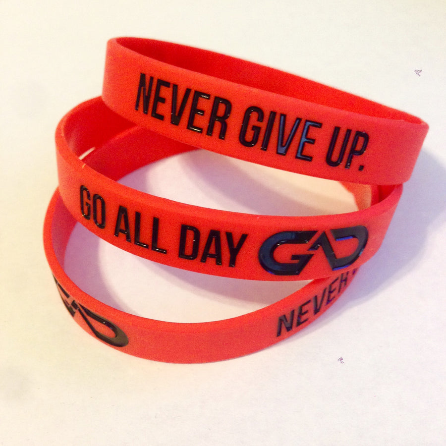 GO ALL DAY® Wristband (Red)