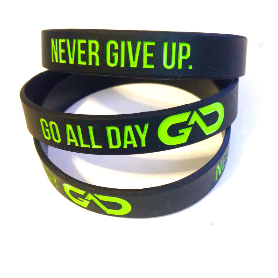 GO ALL DAY® Wristband (Black)