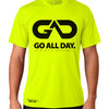 DRY-FIT Mens Tee (Neon Green) Performance