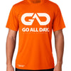 DRY-FIT Mens Tee (Neon Orange) Performance