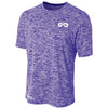 Galaxy DRY-FIT Mens Performance Tee (Purple)