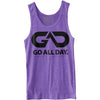 GO ALL DAY® Unisex Tank (Heather Purple)