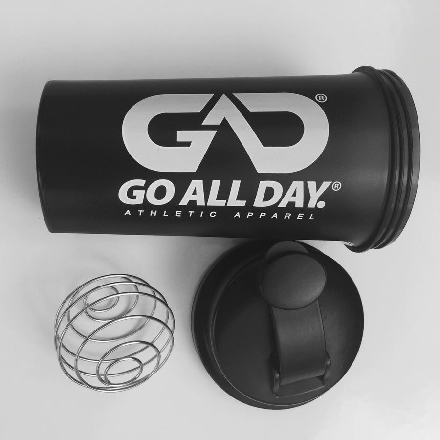 GO ALL DAY® 25-oz. Shaker Bottle (Clear)