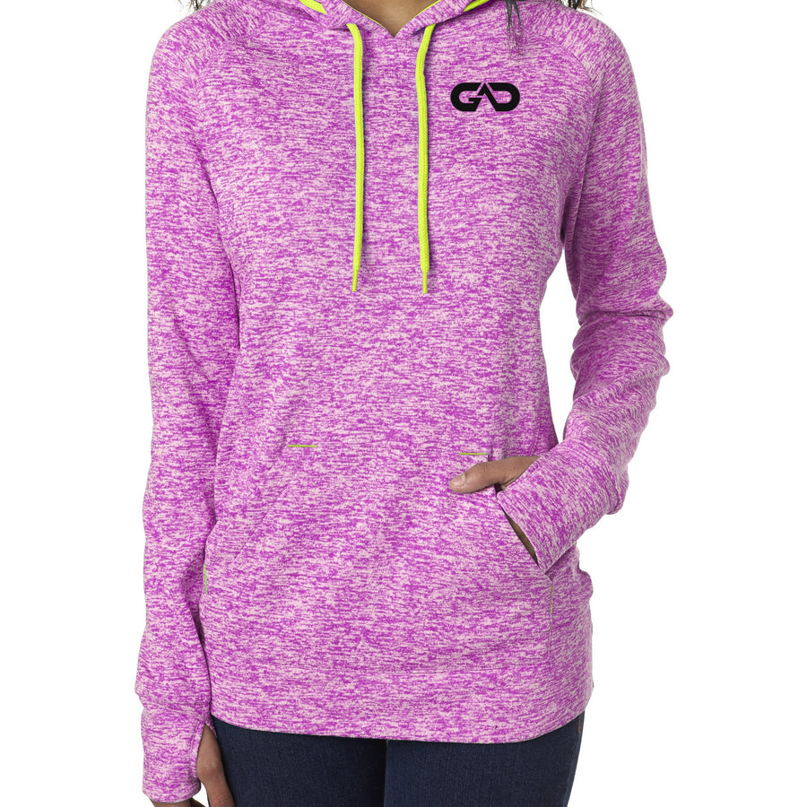 "Women's ""Cosmic"" Hoodie Fleece (Magenta)"