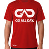 DRY-FIT Mens Tee (Red) Performance