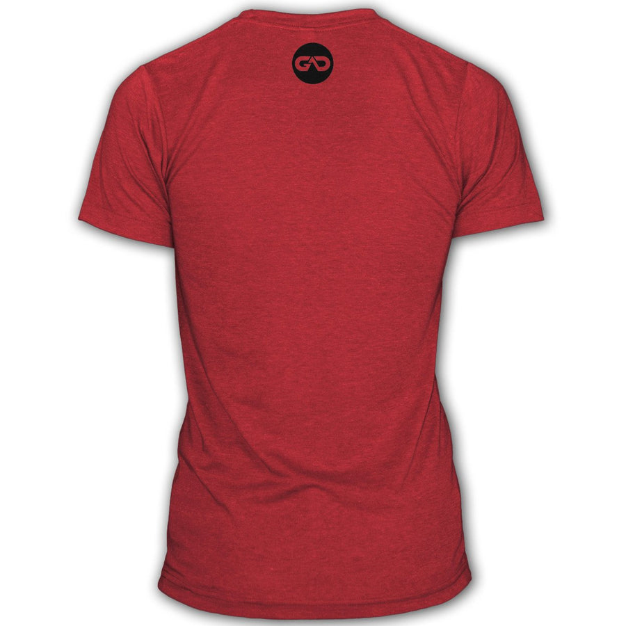 """GO ALL DAY"" Signature Series Tee (Red)"