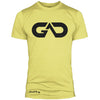 GO ALL DAY Infinity Logo Poly/Cotton Tee (Banana)