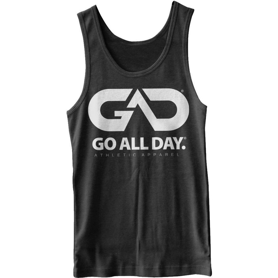 GO ALL DAY® Unisex Tank (Charcoal Black)