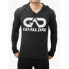 """THE CLASSIC"" Lightweight TriBlend Hoodie 2.0 (Black)"