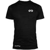 GO ALL DAY Infinity Logo Poly/Cotton Tee (Black)
