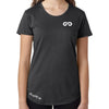 Women's GO ALL DAY Infinity Logo TriBlend Tee (Charcoal)
